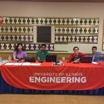 Engineering Research Fair Welcome Table